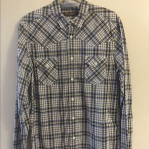 Ben Sherman plaid shirt size large